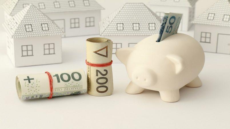 Zakup domu, mieszania, pienidze