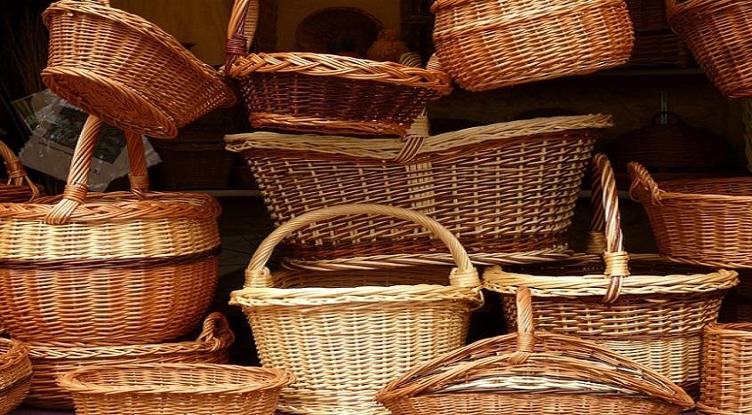 #26 Koszyki z wikliny
