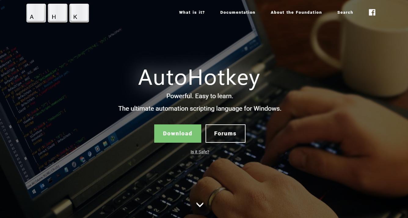 Strona główna AutoHotkey com