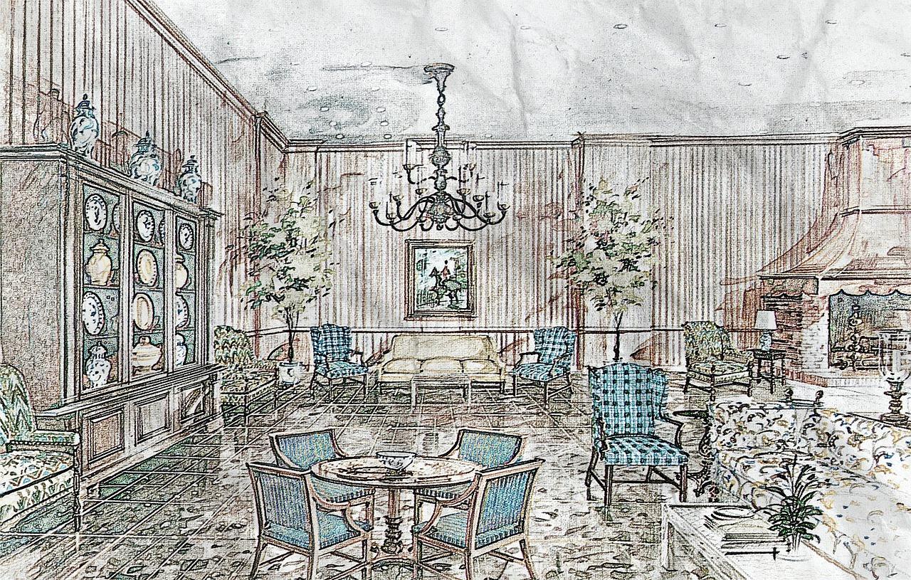 rysunkowe pomieszczenie